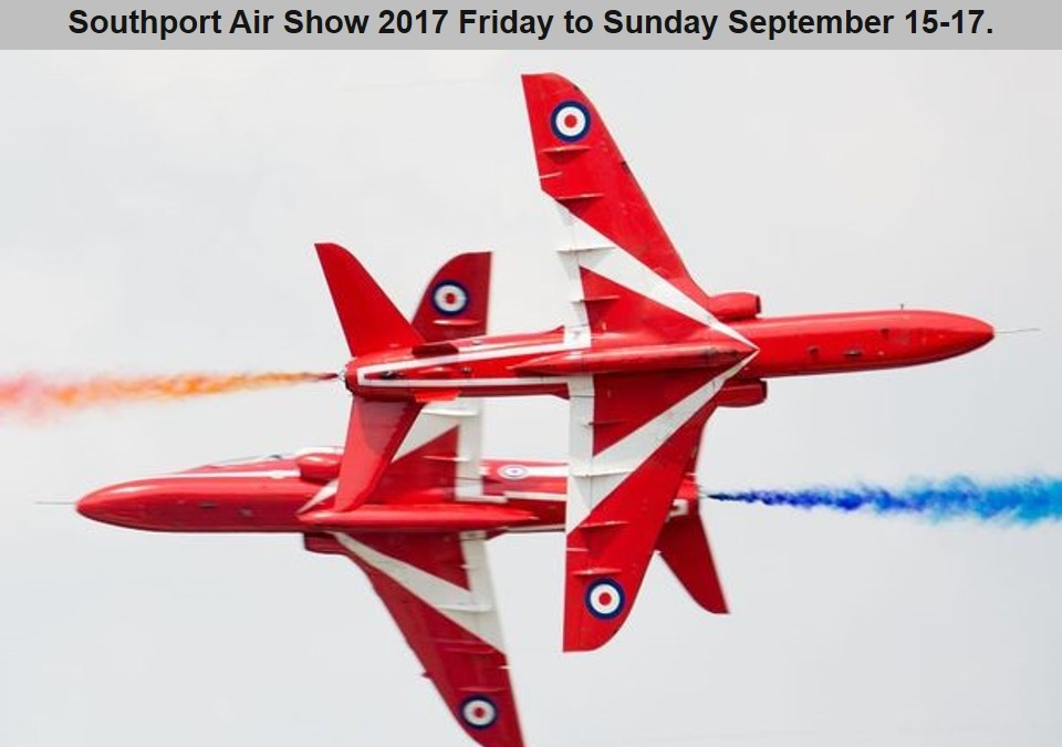 Southport Airshow – 15th -17th-September-2017 Accommodation