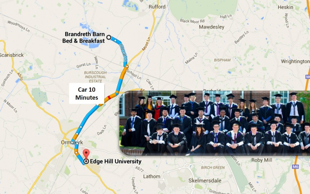 Edge Hill University Graduation 2019 Accommodation