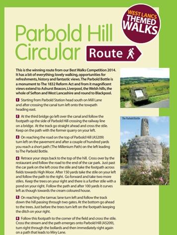 Parbold Hill Circular
