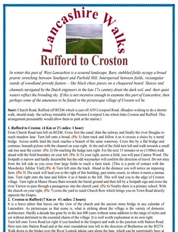 Rufford to Croston
